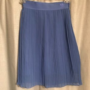 Adidas Oceans Element Pleated Skirt Blue